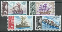 Mali Poste Aérienne YT N°123/126 Bateaux Célèbres Neuf ** - Mali (1959-...)