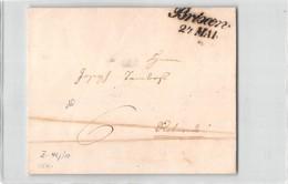 17462 BRIXEN Via ROVEREDO 1842 WITH TEXT - Italie
