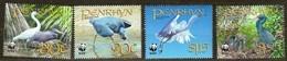 Penrhyn 2008 Yvertn° 454-57 Mi N° 611-14 *** MNH Cote 9,60 Euro Faune WWF Oiseaux Vogels Birds - Cigognes & échassiers