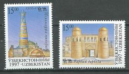 Ouzbékistan YT N°94/95 Route De La Soie Neuf ** - Ouzbékistan
