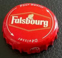 France Capsule Bière Crown Cap Beer Falsbourg Dévisser Pour Ouvrir - Bier