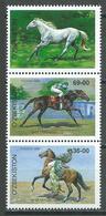Ouzbékistan YT N°143/145 Chevaux (28-69-36) Neuf ** - Ouzbékistan