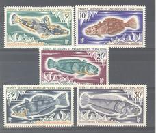 T.A.A.F. N°34 à 38 (Très Bon état, à 15% De La Cote) - Terre Australi E Antartiche Francesi (TAAF)
