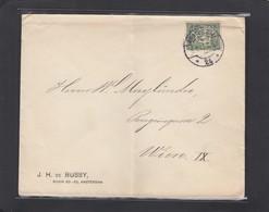 FIRMENLOCHUNG/PERFIN/PERFORATION.J.H. DE BUSSY,AMSTERDAM. - 1891-1948 (Wilhelmine)