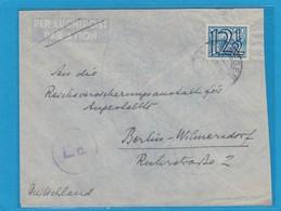 BRIEF VON NIJMEGEN NACH BERLIN-WILMERSDORF,ZENSURSTEMPEL. - 1891-1948 (Wilhelmine)