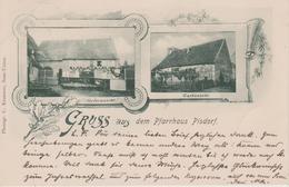 67 - PISDORF - 2 VUES - GRUSS AUS DEM PFARRHAUS - France