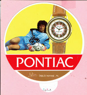 Sticker - Pontiac Horloge - Michel PREUD'HOMME - Autocollants
