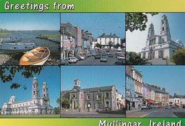POSTAL B02253: Greetings From Mullingar Ireland. - Postales