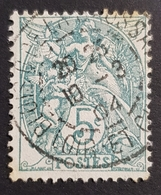 1900, Definitive Issue, France, Empire Republique Française, *,**, Or Used - 1898-1900 Sage (Type III)