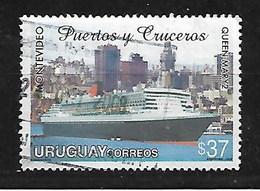 URUGUAY 2006 CRUISE SHIP QUEEN MARY Ll AT MONTEVIDEO PORT - Uruguay