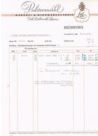 Rechnung Pulvermühl (LUX/LUX)nach Firma Konrad Peschon Hobscheid 1942 - Luxembourg