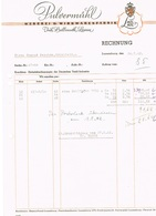 Rechnung Pulvermühl (LUX/LUX)nach Firma Konrad Peschon Hobscheid 1942 N°85 - Luxembourg