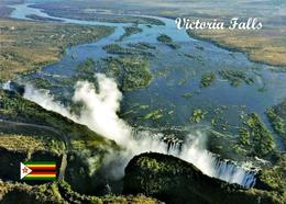 Zimbabwe Victoria Falls Aerial View UNESCO New Postcard - Zimbabwe
