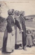 CPA 29 @ DOUARNENEZ - JEUNES FILLES Aux Plomarehs En 1913 - Douarnenez