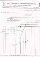 Manufacture De Tricots S. A. Pulvermühl (LUX/LUX) 1938 - Luxembourg