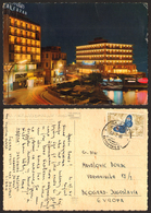 Lebanon BEYROUTH Beirut Alcazar Hotel By Night Stamp  #28275 - Libanon