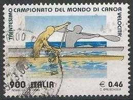 LSJP ITALY CANOE WORLD CHAMPIONSHIP - 6. 1946-.. Republic