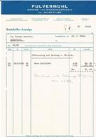 Pulvermühl  Weberei Und Wirkwarenfabrik 1942 N°86 - Luxembourg