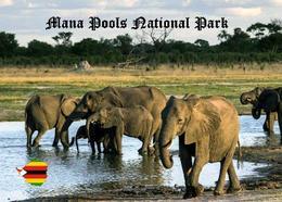 Zimbabwe Mana Pools National Park UNESCO New Postcard - Zimbabwe