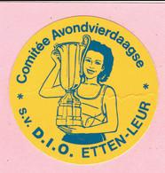 Sticker - Comitée Avondvierdaagse - S.V.   D.I.O.  ETTEN-LEUR - Autocollants