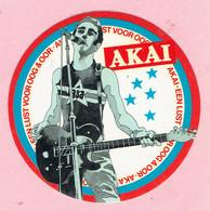 Sticker - AKAI - Een Lust Voor Oog & Oor - Autocollants