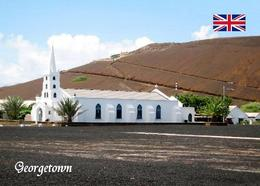 Ascension Island Georgetown St. Marys Church New Postcard - Ansichtskarten