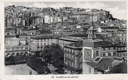 ALGER - La Blanche  & Au Dos YT 78 - Alger