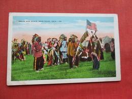 Indian War Dance Near Tulsa OK        Ref 3357 - Native Americans