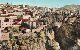 CONSTANTINE - Vue Centrale Et Ravin Des Gorges   & Au Dos Cachet Constantine Sur YT 269 - Constantine