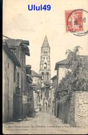 """87 Haute Vienne - SAINT LEONARD - """" Vieilles Rues - Rue De La Poste """" - Saint Leonard De Noblat"""