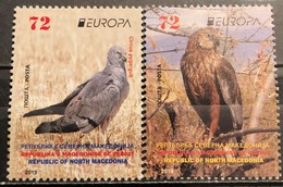 North Macedonia, 2019, Europa CEPT, Birds, (MNH) - Macedonia