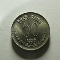 India 50 Paise 1976 - India