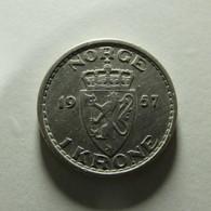 Norway 1 Krone 1957 - Norway