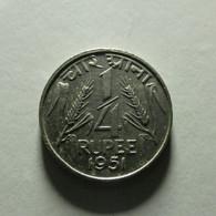 India 1/4 Rupee 1951 - Inde