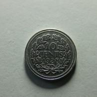 Netherlands 10 Cents 1928 Silver - 10 Centavos