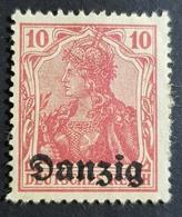 "1920 German Stamps Overprinted ""Danzig"", Danzig, Gdansk, Allemagne, Germany,  *,**, Or Used - Dantzig"
