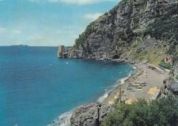 POSITANO-SALERNO-SPIAGGIA DI FORNILLO-CARTOLINA VERA FOTOGRAFIA-VIAGGIATA IL 6-8-1973 - Salerno