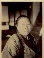 JAPANESE LADY   JAPANESE JAPON JAPAN 15 * 12 CM Fonds Victor FORBIN 1864-1947 - Fotos