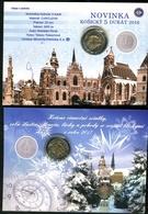 901-5 DUKAT Košice Münzecard 300 Stück Qualität BU-5 DUKAT Košice Coincard 300 Pcs Quality BU-2016 Nummeri - Slovakia