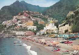 POSITANO-SALERNO-MARINA-CARTOLINA VERA FOTOGRAFIA-NON VIAGGIATA ANNO 1965 - Salerno