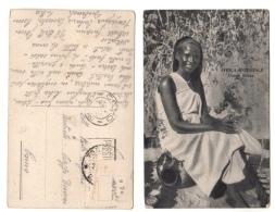 Cartolina DONNA BILENA - AFRICA ORIENTALE - TOBRUK - Libia