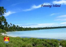 Kiribati Line Islands Fanning Island New Postcard - Kiribati