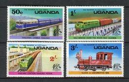 Uganda 1976. Yvert 118-21 ** MNH. - Uganda (1962-...)