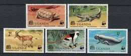 Uganda 1976. Yvert 142-146 ** MNH. - Uganda (1962-...)