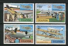 Uganda 1978. Yvert 164-67 ** MNH. - Uganda (1962-...)