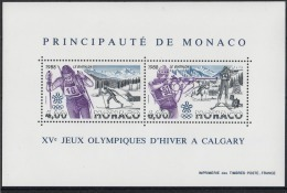 MONACO 1988 BLOC N°40 NEUF ** - Bloques