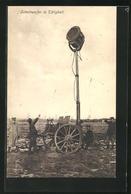 AK Schweinwerfer In Tätigkeit - Oorlog 1914-18