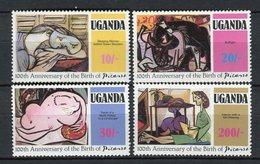 Uganda 1981. Yvert 267-70 ** MNH. - Uganda (1962-...)