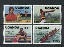 Uganda 1984. Yvert 350-53 ** MNH. - Uganda (1962-...)