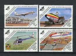 Uganda 1984. Yvert 358-61 ** MNH. - Uganda (1962-...)